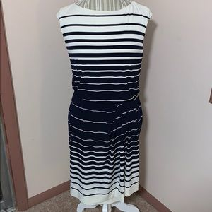 Striped dress new with tags